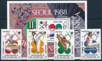 Summer Olympics, Seoul set + block, Nyári Olimpia, Szöul sor + blokk