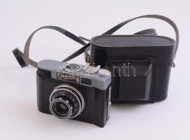 Smena 8 fényképezőgép tokjával, jó állapotban