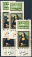 1974 Mona Lisa 10 db szelvényes bélyeg (12.000)