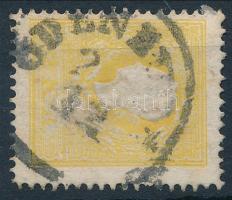 "yellow, 2kr II. tipus sárga ""ÖDENB(URG)"" Ceritficate: Steiner"
