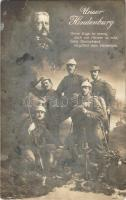 1915 Unser Hindenburg / WWI German military propaganda art postcard (EB)