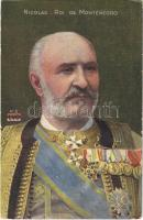 Nicolas, Roi de Monténégro / Nicholas I, King of Montenegro (EB)