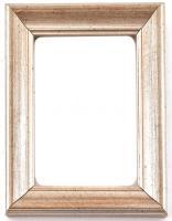 Festett fa képkeret, belső méret: 11x15 cm