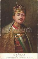 IV. Károly, Magyarország apostoli királya / Charles I of Austria. G.G.W.II. Nr. 292. (EK)