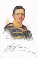 1916 IV. Károly / Kaiser Karl. Dem K.u.K. Kriegsfürsorgeamt gewidmet / Charles I of Austria s: Oskar Brüch (EK)