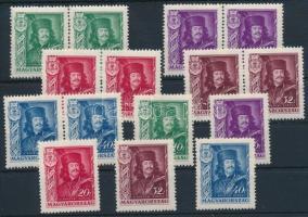 1935 II. Rákóczi Ferenc (I.) 3 db sor,benne pár összefüggésekkel (10.500)
