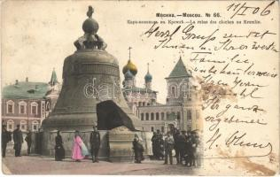 1906 Moscow, Moscou; La reine des cloches au Kremlin / Tsar Bell (fl)