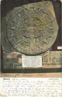 Mexico City, Calendario Azteca / Aztec sun stone (EK)