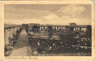 1938 Papendyk (Reken), NS Arbeitsdienstlager / Nazi labor service camp (worn corner)