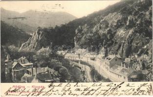 1905 Mödling, Klausen. Lichtdruck C. Weingartshofer