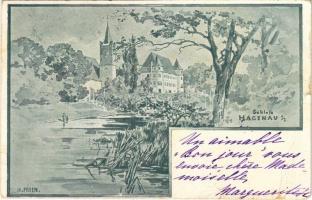 1900 Sankt Peter am Hart, Schloss Hagenau / castle s: H. Prfen (EB)