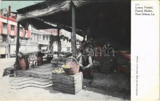1909 New Orleans (Louisiana), Lemon vendor, French Market (EK)