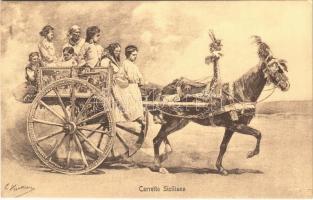 Carretto Siciliano / Sicilian cart, folklore