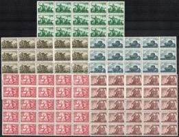 1941 Katona sor 25 darabos ívtöredékekben (12.500)