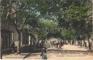 Dakar, Boulevard National / street view (fl)