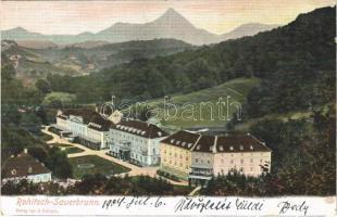 1904 Rogaska Slatina, Rohitsch-Sauerbrunn (Steiermark); Styria-Bad / spa, bath, hotel. Verlag v. E. Pufitsch (EK)