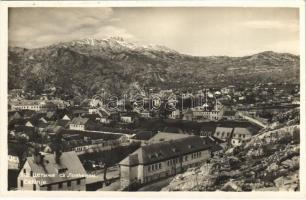 Cetinje, Cettinje, Cettigne; general view