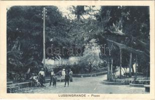 Veli Losinj, Lussingrande; Pozzo / park (EK)