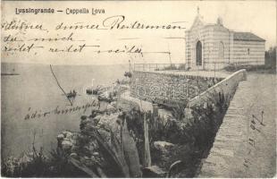 1907 Veli Losinj, Lussingrande; Capella Leva / chapel