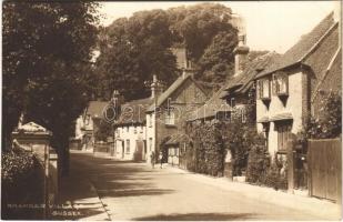 Bramber Village (Sussex), street view (glue mark)