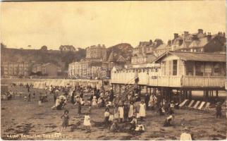 1918 Dawlish, The Sands, beach (EK)