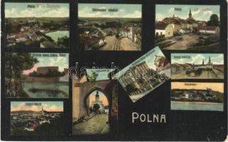 1911 Polná, Art Nouveau mosaic