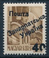 Ungvár II. 1945 Hadvezérek 40/10f garancia nélkül (200.000)
