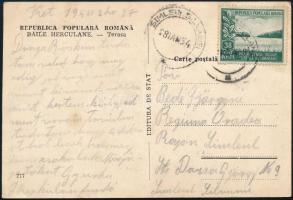 Románia 1954