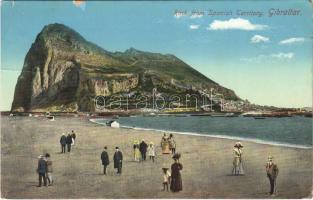 1912 Gibraltar, Rock from Spanish Territory (EK)