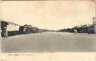 Port Sudan, Rue Principale / street view (fl)