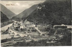 Zidani Most, Steinbrück; railway station, bridge (cut)