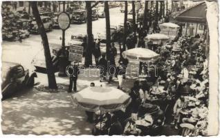 1947 Paris, Café de la Paix, La Terrasse / café, terrace