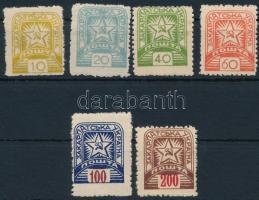 Kárpát-Ukrajna 1945 6 klf bélyeg
