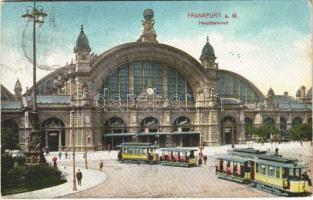 1908 Frankfurt a. M., Hauptbahnhof / railway station