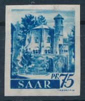 Saar 194Mi 222 vágott (Mi EUR 100.-)