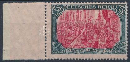 Deutsches Reich 1915 Mi 97 AII ívszéli (Mi EUR 200.-)