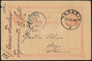 Románia 1894