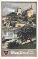 Ottensheim, Schloss / castle. Deutscher Schulverein Karte Nr. 398.
