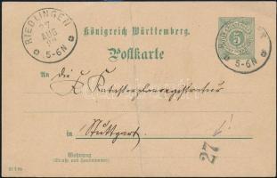 Német Államok- Württemberg 1899