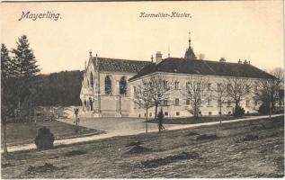 Mayerling, Karmeliter-Kloster / church and convent of the Discalced Carmelite nuns