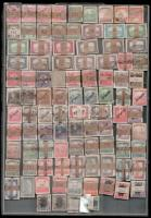 96 db bündli benne 4 db Krajcáros bündli- az 1881-1920 közötti időszakból műanyag tálcán