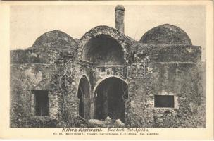 Kilwa Kisiwani, Deutsch-Ost-Afrika / German East Africa