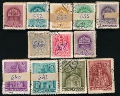 1939 Templom 12 klf értéke 100-as bündlikben (15.000)