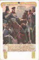 Auf Scharnhorsts Tod von M. v. Schenkendorf / WWI German military art postcard. Deutscher Wehrverein s: Karl Alex Wilke