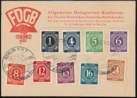 Németország - zónák 1946