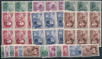 1952 1848-as szabadságharcosok 8 db sor, köztük hatostömbök is (12.000)