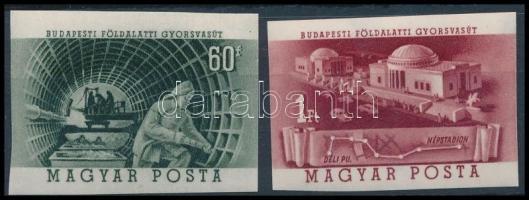 1953 Metró (I.) vágott sor (8.000)