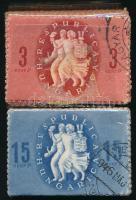 1946 Köztársasági emlék sor 100-as bündlikben (10.000)