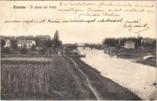1913 Riccione, Il ponte sul Porto / bridge