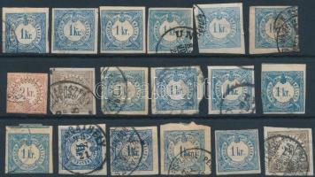 18 db Hírlapilleték bélyeg